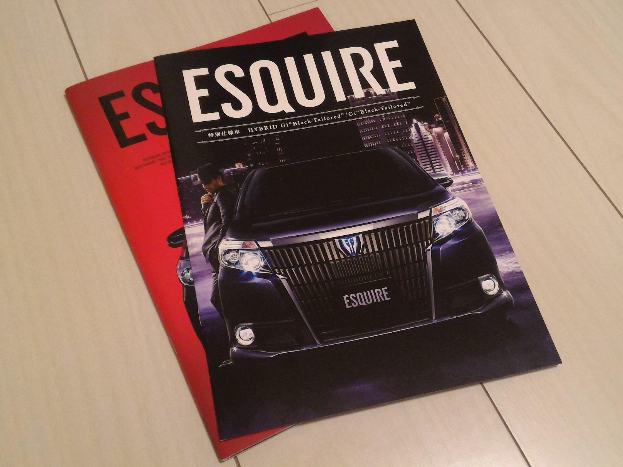 エスクァイア特別仕様車「Black-Tailored」は通常タイプと何が違うかディーラーで聞いてきた