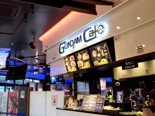 エキスポシティにある東京以外唯一のガンダムカフェ(ガンダムスクエア)に行ってみた