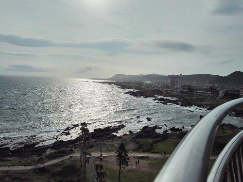 灯台からの景色西方向