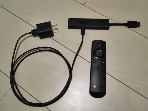 Amazon Fire TV Stick(new) セット前