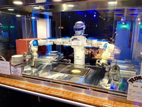 ロボットが料理を作る?変なレストラン(ハウステンボス)へ行ってみた