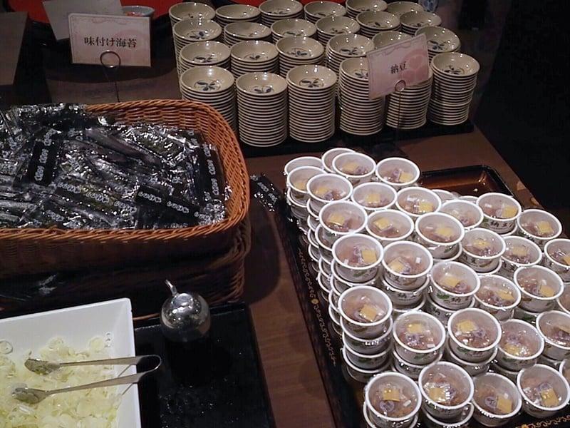 納豆、味付け海苔
